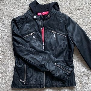 JOU JOU | LEATHER JACKET